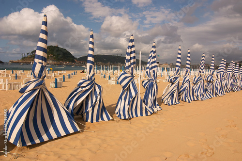 Photo  San Sebastian beach