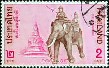 Queen Suriyothai Riding Elepha...