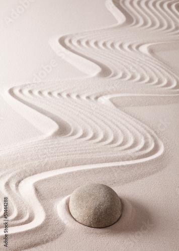 Fototapety, obrazy: zen meditation stone