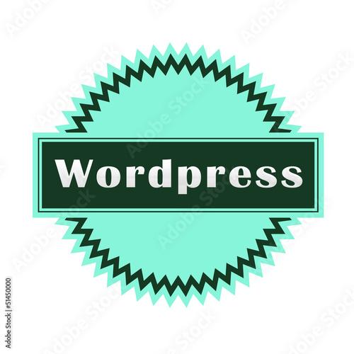 Fotografie, Obraz  Posa vasos Wordpress