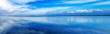 Sunset Blue Panoramic Landscap...