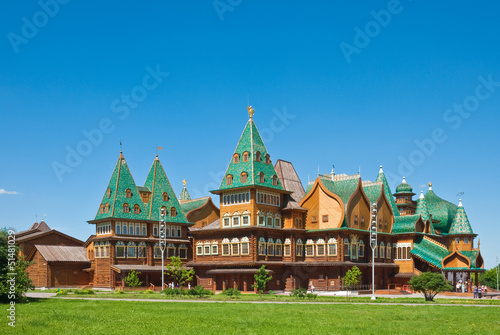 Slika na platnu The wooden palace in Kolomenskoye, Moscow