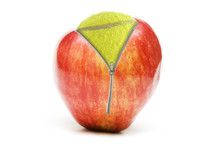 Apple Zip And Tennis Ball