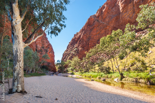 Printed kitchen splashbacks Australia Simpsons Gap, MacDonnell Ranges, Australia