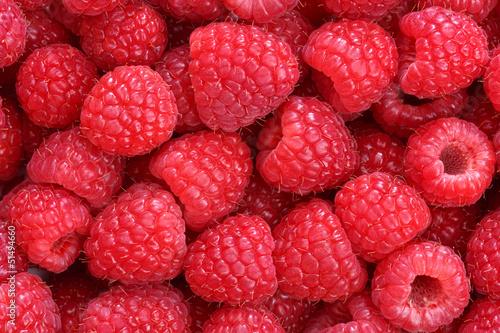 Fotomural raspberries