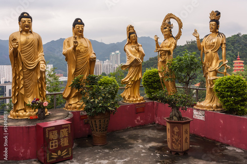Buddhist temple in Sha Tin