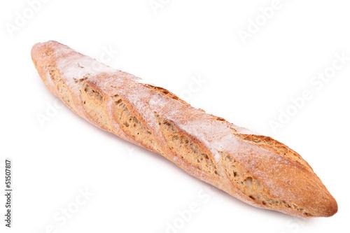 Fotografie, Obraz  isolated baguette