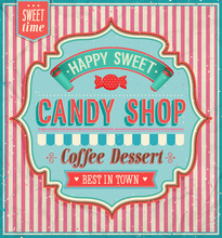 Candy Shop - Vector Illustration