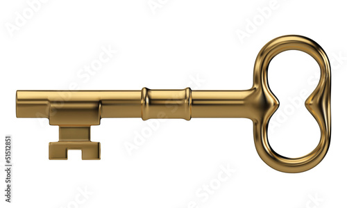 Fotomural  Golden key