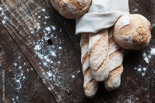Fotografia, Obraz  French Bread