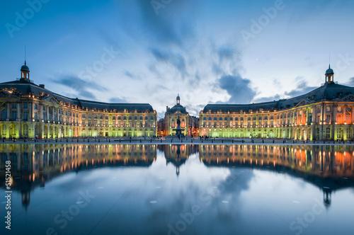 Fotografia, Obraz  Bordeaux - Place de la Bourse