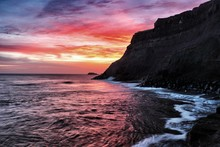Sunrise Over Whitby, North Yorkshire