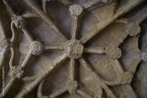 Fotografie, Obraz  Cloister ceiling.