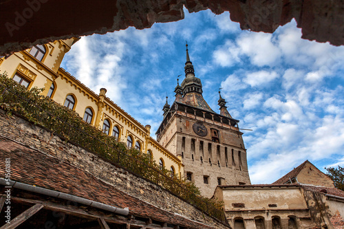 Fotografie, Obraz  Sighisoara Medieval City, Romania