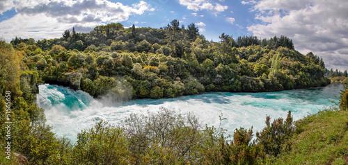 Valokuva  Huka-Wasserfälle bei Taupo