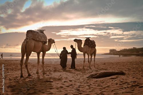 Stickers pour portes Maroc Spiaggia di Taghazout