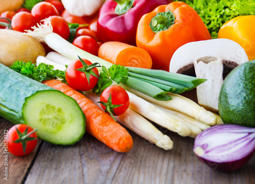 Foto op Plexiglas Groenten Gemüse