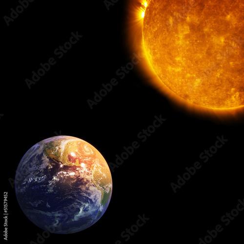 ziemia-i-slonce-globalne-ocieplenie