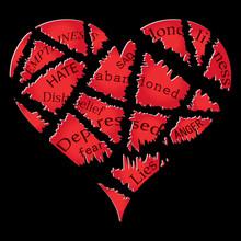 Broken Heart Vector