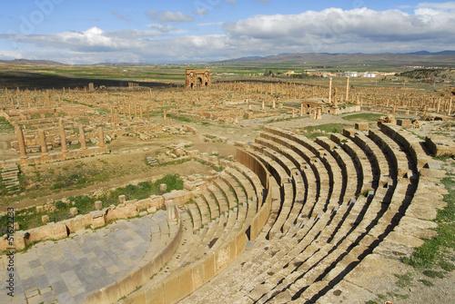 Poster Algérie Theatre-Site de Timgad-Algerie