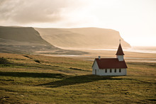 Typical Rural Icelandic Church...