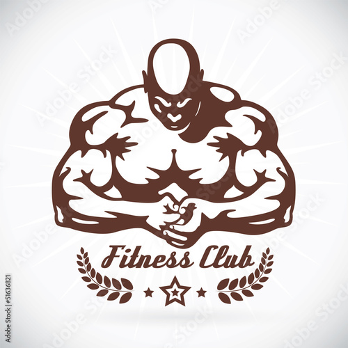 Photo  Bodybuilder Fitness Model Illustration, Sign, Symbol