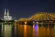 Old Bridge in Koln city, Germany