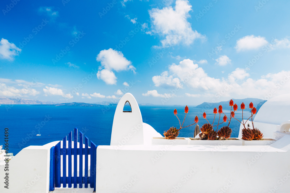 Fototapety, obrazy: Santorini Island, Greece