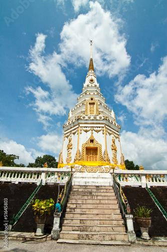 Spoed Foto op Canvas Bedehuis Pagoda temple in Thailand