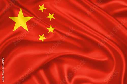 Tuinposter China flag of China