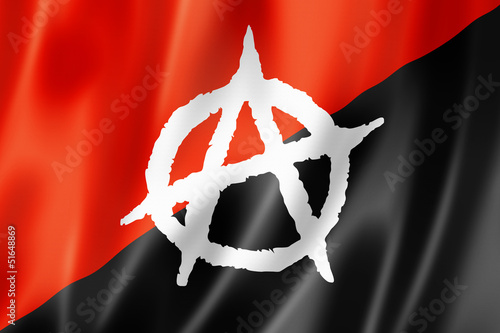 Anarchy flag Canvas-taulu