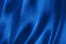 Deep Blue Satin Texture