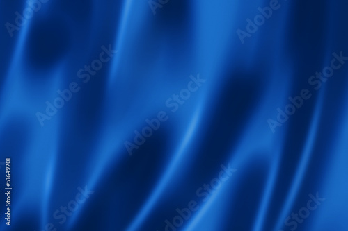 Deep blue satin texture Fototapet