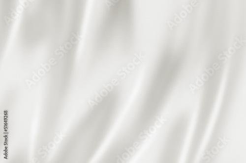 Fotografie, Obraz White satin texture
