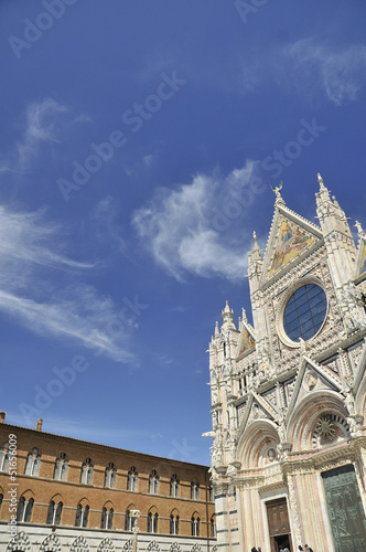 Poster Artistiek mon. Santa Maria Assunta - Duomo di Siena