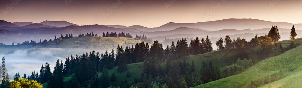 Fototapeta mountains landscape