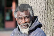 Old African American Homeless ...
