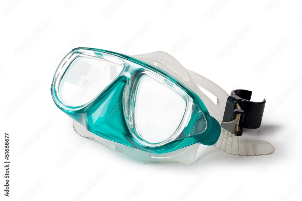 Fototapeta snorkel and mask