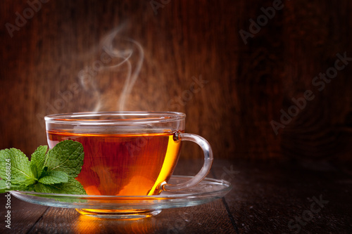 Wall Murals Tea Cup of tea