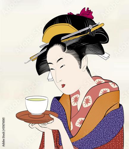 Fotografia 浮世絵 江戸美人画16
