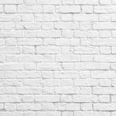 FototapetaWhite brick wall
