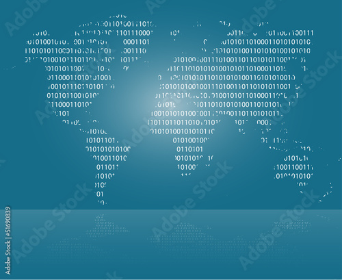 Door stickers World Map world map background - carte du monde - Weltkarte