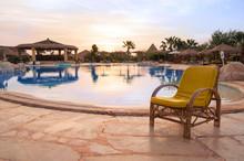 Chair Near The Pool