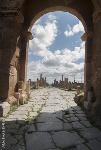 Foto op Canvas Algerije Arc de Trajan - Timgad - Algérie