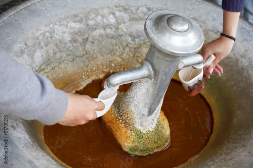 Fotografie, Obraz  mineral springs