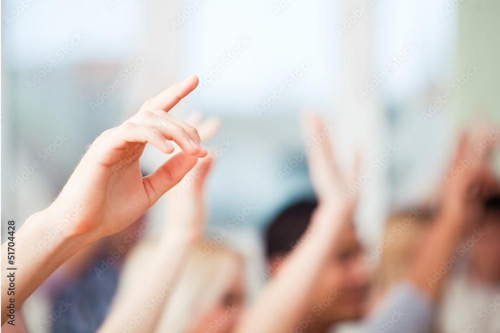 Fototapeta Hands Up