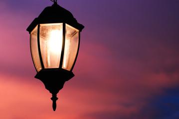 Light of the Lamp in Hanoi