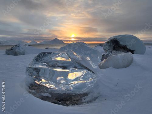 Wall Murals Arctic Arctic ice - landscape