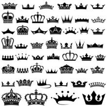 Crown Design Set - 50 Illustra...