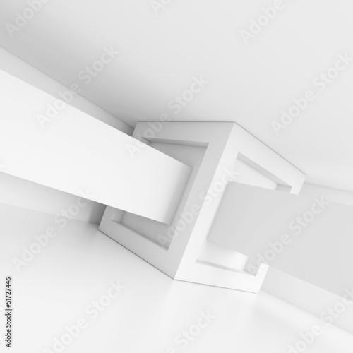 Zdjęcie XXL Abstrakcyjne Tło Budynku